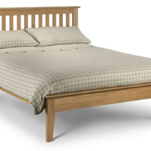 julian-bowen-salerno-shaker-bed-solid-oak
